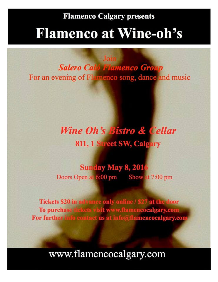 Flamenco at wine-ohs may 2016